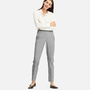 Uniqlo - Plaid Ankle Length Trousers